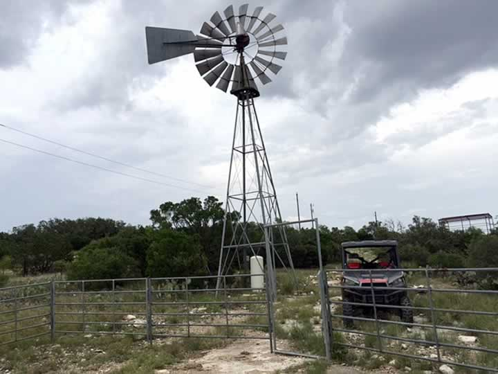 Windmill and Horse Pens