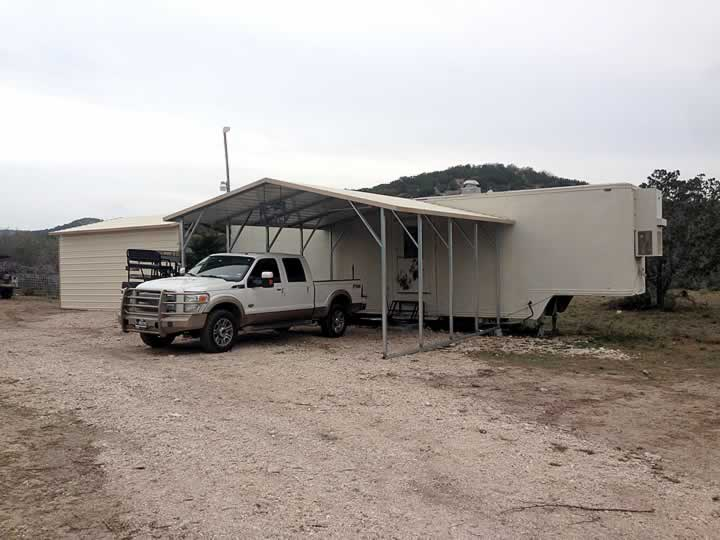 Trailer and Carport