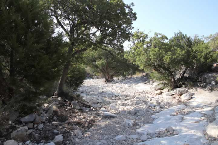 Seasonal Dry Creeks