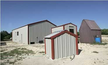 Skinning Shed, Walk-in Cooler, Pump House