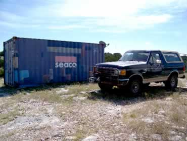 Storage Container & Bronco