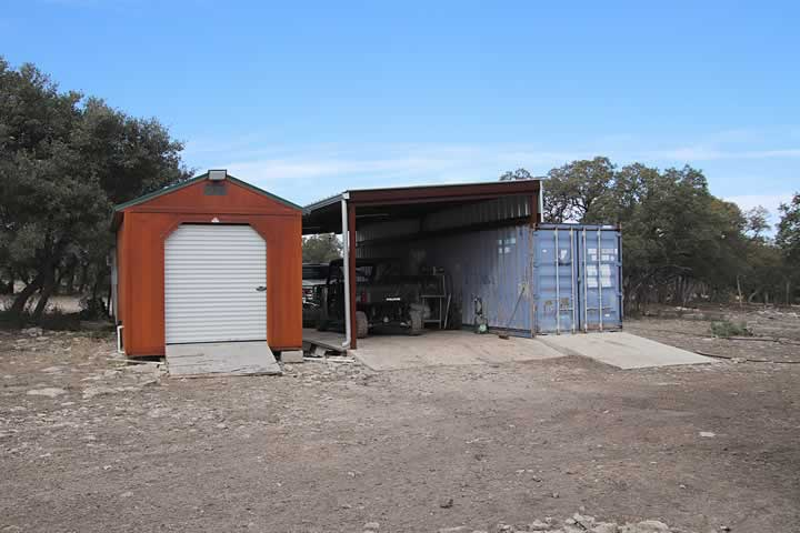 Sea Container, Skinning Shed, Processing Room