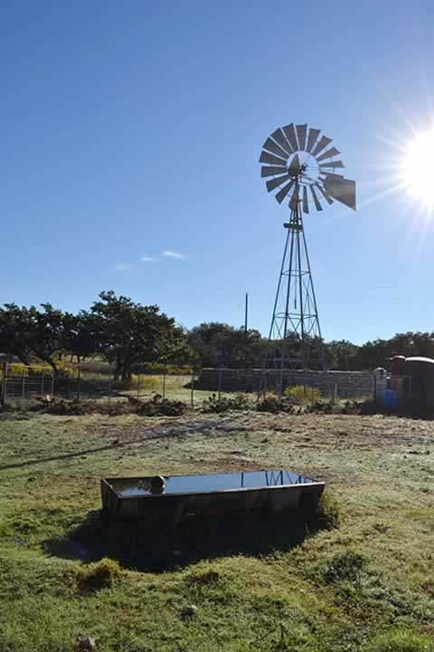 Windmill Watering Trough